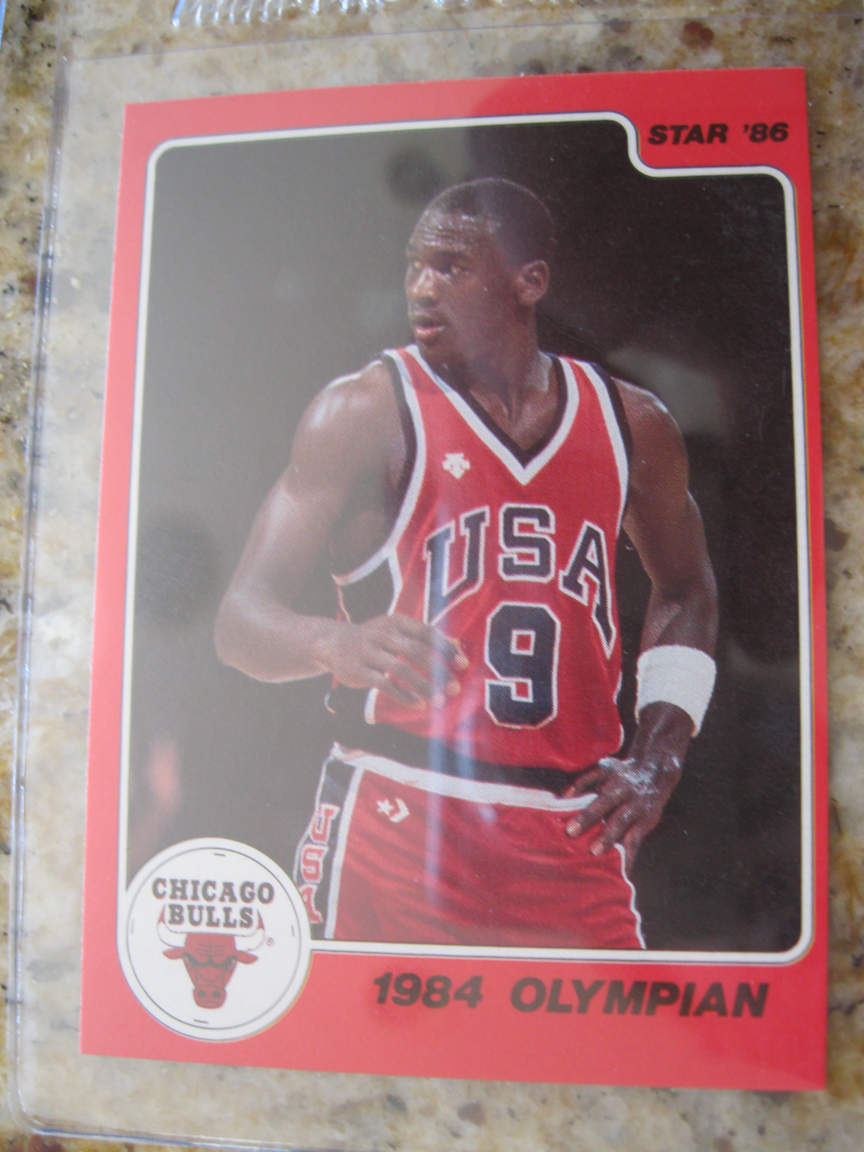 Rare Michael Jordan Ten Card Set